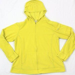LL Bean Full Zip Hoodie Fleece Jacket Women's L